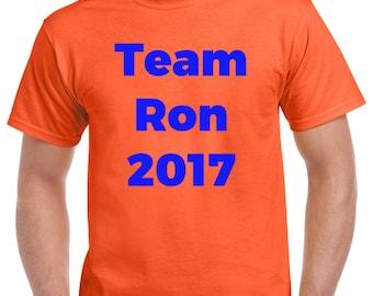 Team Ron - 5k Fundraiser T-Shirt