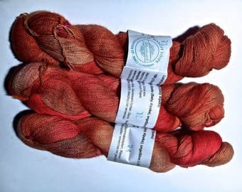 Alpaca lace hand-dyed LL CA. 800 m A1, A2, A3