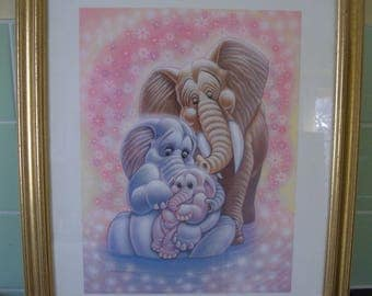 Signed Limited Edition Print by Walt Disney Artist - 'Unto Us a Child is Born'