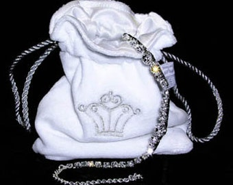 Jewelry Pouch - White