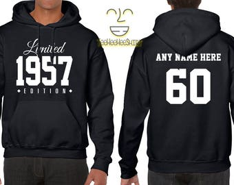 1957 Limited Edition B-day Hoodie 60th Birthday Gift Cool hipster swag mens womens ladies hooded sweatshirt sweater Unisex