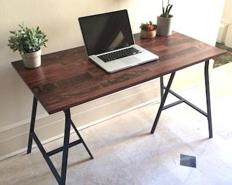 Long narrow desk table on ikea legs choose any by goldenrulenyc - Long narrow dining table ikea ...