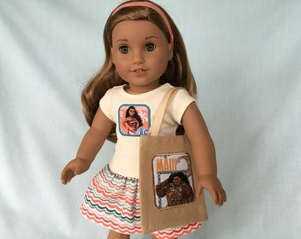 Moana Outfit for American Girl/18 Inch Doll
