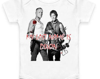 My Last Name is Dixon - Baby Clothes
