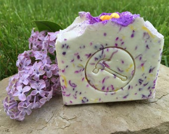 Classic Lilac - Cold Process Soap *FREE SHIPPING*