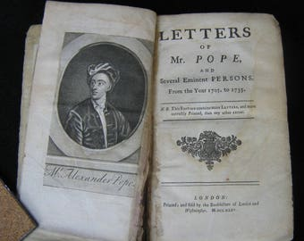 Pope, Letters of Mr (Alexander) Pope1735