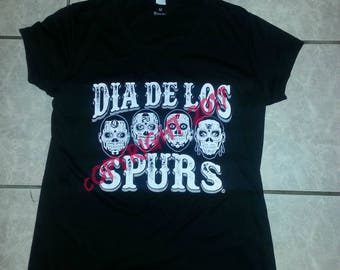 San Antonio Spurs Womens V Neck Drive Fit tee.  NEW