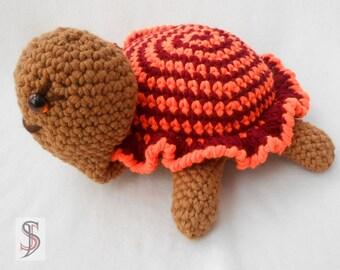 Häkeltier: Turtle - Mrs. Friedrich