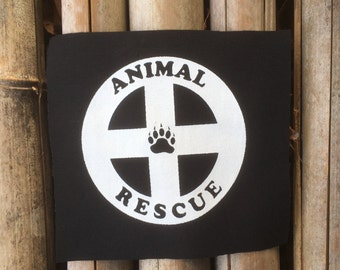 Animal Rescue Patch