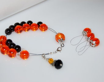 Row counter Campari Abacus mixing orange counter bracelet crochet bracelet knitting tool