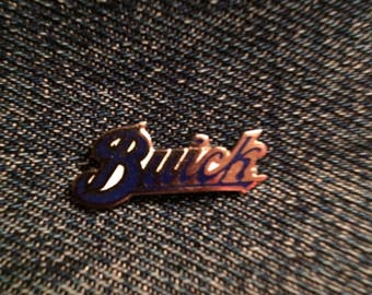 Buick enamel pin
