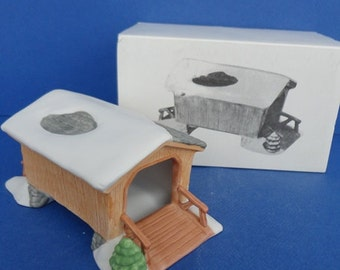 Dept 56 Covered Wooden Bridge NEV Accessory