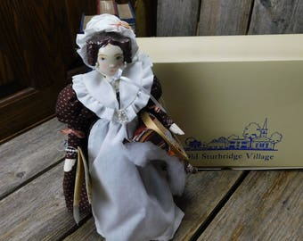 Vintage Folk Art Doll -  Mary C. Michaud - Art Doll 0 Quilter