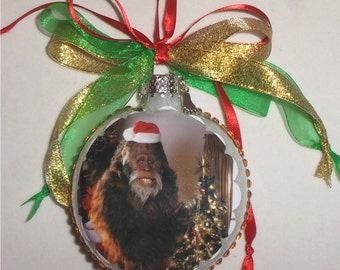 Harry and the Hendersons inspired Tribute Christmas Ornament 1