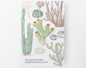 Cacti Pin, Cactus Flair, Plant Pin Game!