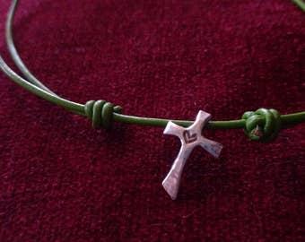Sterling Sweetheart Cross