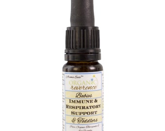 Immune and Respiratory Support | Organic Aromatherapy Oil | BABIES and TODDLERS