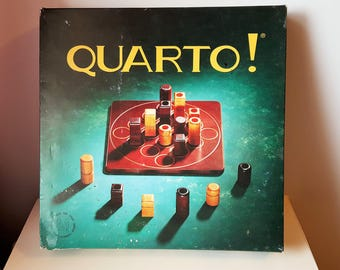 Quarto Board Game wooden strategy game Gigamic 1991