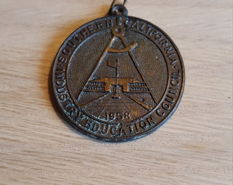 1958 Science Medal - PRICE INCLUDES SHIPPING