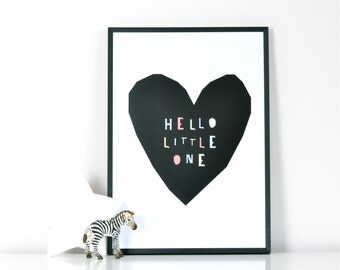 Hello Little One Print