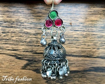 kuchi jewelry, ATS Tribal bellydance, Ethnic jewelry, Indian earring