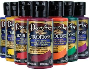 SALE Acrylic Artists Paint 1 oz. All Purpose Acrylic Paint 1 oz. Bottle. Acrylic Craft Paint 1 oz. Bottle.