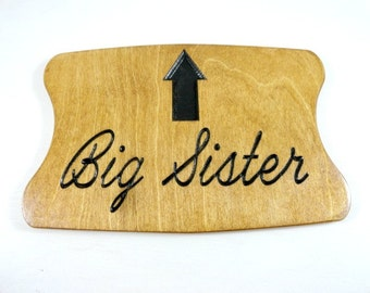 Pregnancy Photo Prop - Going to be a Sister - Promoted Big Sister - Big Brother Reveal - Sibling Pregnancy - New Brother - Expecting