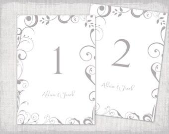 wedding menu template gold scroll diy wedding menu. Black Bedroom Furniture Sets. Home Design Ideas