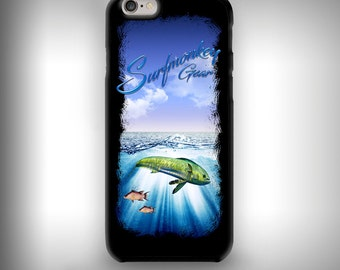 iPhone 6+ / 6s+ case with Full color custom graphics - Mahi ocean