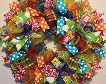 Teacher Wreath / teacher gift / classroom wreath / classroom decor / Teacher's wreath / teacher's gift / gift for teacher
