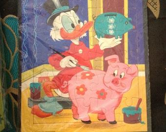 Vintage 70's Disney Uncle Scrooge