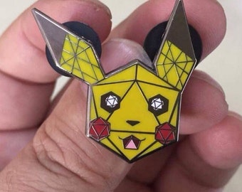 Odesza pikachu hat pin - Summer camp, Electric Forest, Camp Bisco, Zeds Dead, Excision, Bassnectar, Chicago, Griz, NYE.