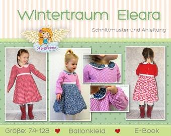 """E-book winter dress """"Winter dream"""" Eleara 74-128"""