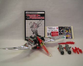 1985 Transformers G1 Swoop Complete includes instructions and more!