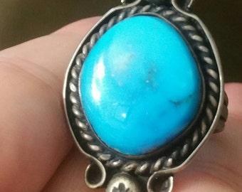 Vintage sterling southwestern ring