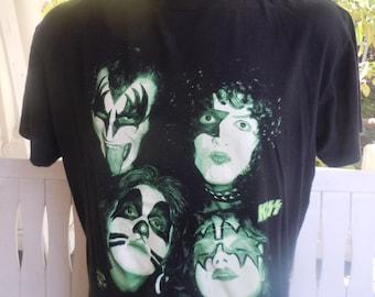Size L++ (50) ** 1995 Kiss Shirt (Single Sided)