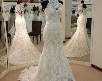 Cassandra P Custom Wedding Dress Vintage Lace Design