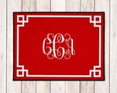 Personalized Door Mat - Custom Welcome Mat - Personalized Welcome Mat - Custom Door Mat - Monogram Doormat - Wedding Gift - Housewarming