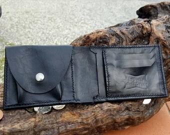 Men's wallet-Coin-Purse-handmade card holder.
