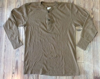 Military issue henley