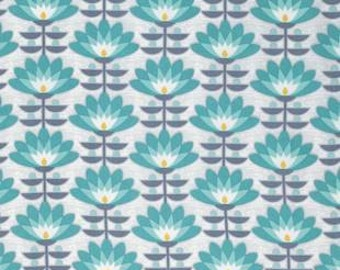 Deco Bloom in Mint, Atrium Collection by Joel Dewberry for Free Spirit Fabrics 4234