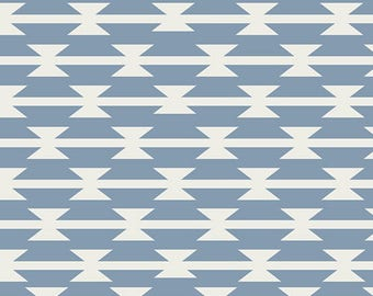 Tomahawk Stripe Cloud In KNIT, Arizona After by April Rhodes for Art Gallery Fabrics 6174