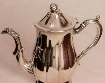 Silverplated Teapot