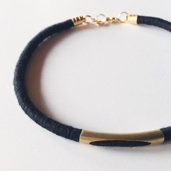 Textile Choker Necklace