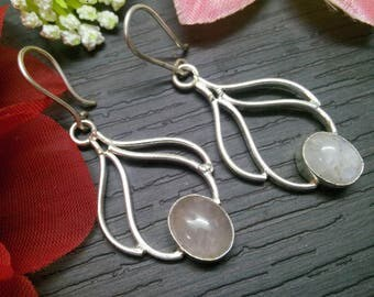 Choose any One earring Pair 925 sterling Silver Plated Stylish Beautiful dangle earring, gemstone Earring