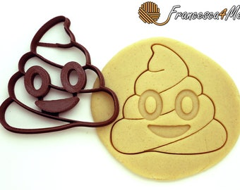 Poop Emoji Cookie Cutter/ Multi-Size