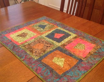 Table or wall quilt