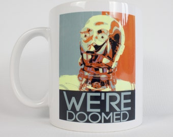 C3PO Mug/Star Wars mug/Star wars gift