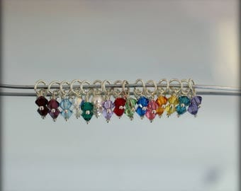 4mm Add on birthstone crystal for necklace you are purchasing from me