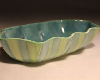Signed Gail Pittman Serving Bowl